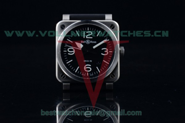 Bell&Ross BR 03-92 Miyota 9015 Auto Black Dial with Steel Case BR 03-92