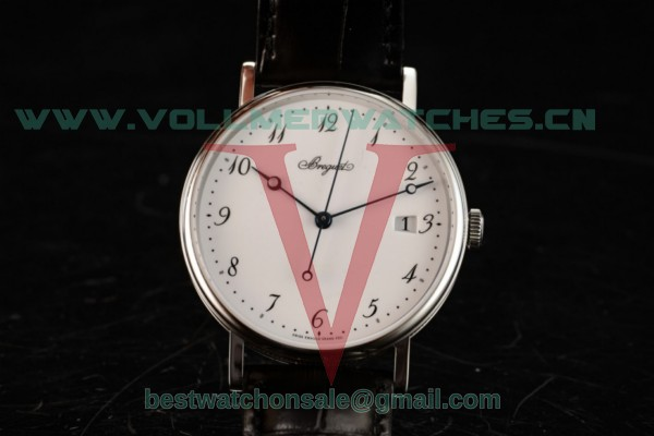 Breguet Classique Japanese Miyota 9015 Auto White Dial with Steel Case 5177BB299V6 (FF)