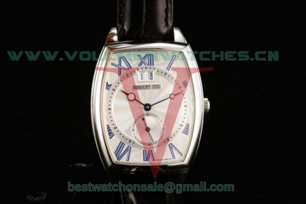 Breguet Heritage Asia Automatic White Dial With Steel Case 5410
