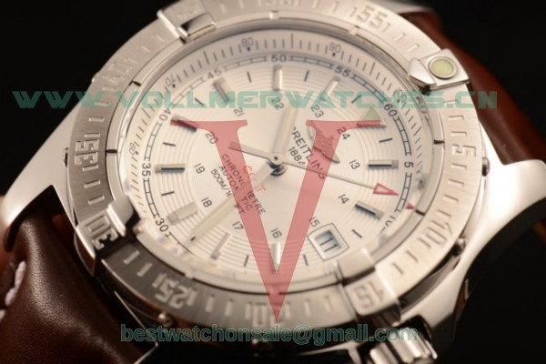 Breitling Colt II 2824 Auto White Dial with Steel Case A1738811/G791/437X/A20BA.1 (AAAF)