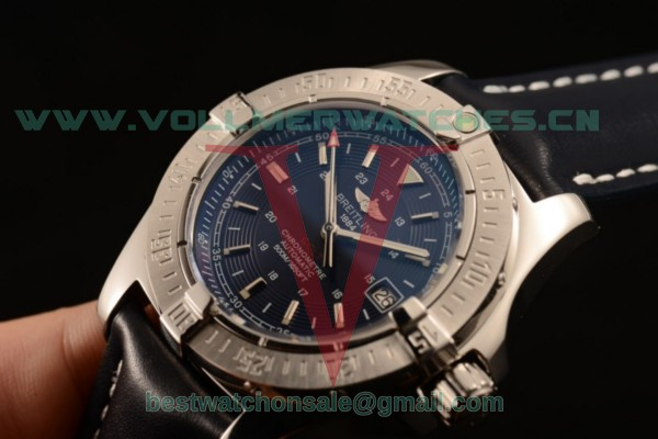 Breitling Colt II 2824 Auto Blue Dial with Steel Case 44 a1738811/c906-3lt (AAAF)