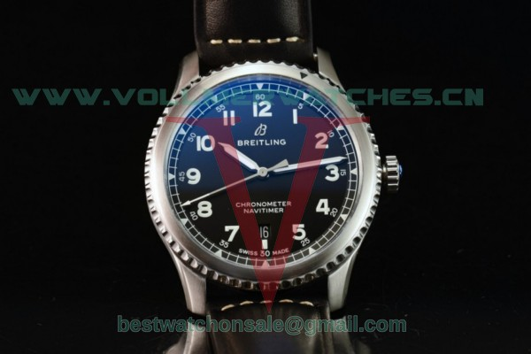 Breitling Navitimer 8 Swiss ETA 2824 Auto Black Dial With Steel Case A17314101B1X1(ZF)
