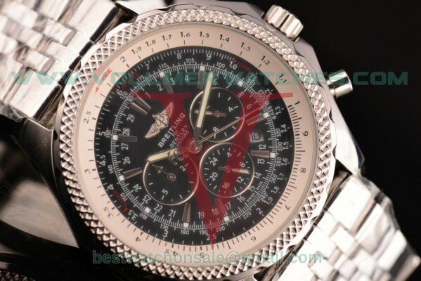 Breitling Bentley Auto Black Dial with Steel Case A2536212/B686