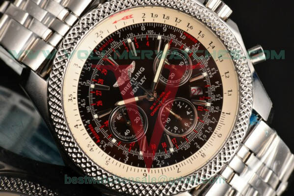 Breitling Bentley Motors Chrono 7750 Auto Brown Dial with Steel Case a2536412/b954