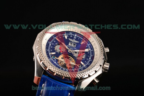 Breitling Bentley Tourbillon Auto Blue Dial with Steel Case A18841