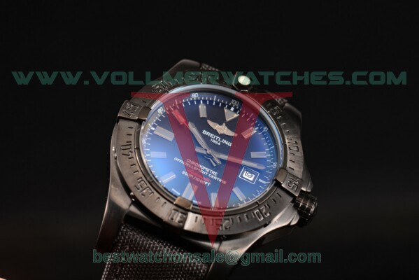 Breitling Avenger 2813 Auto Black Dial with PVD Case a1733110/bc30-1pro2tpgr