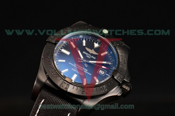 Breitling Avenger 2813 Auto Black Dial with PVD Case a1733110/bc30-1pro2tpw