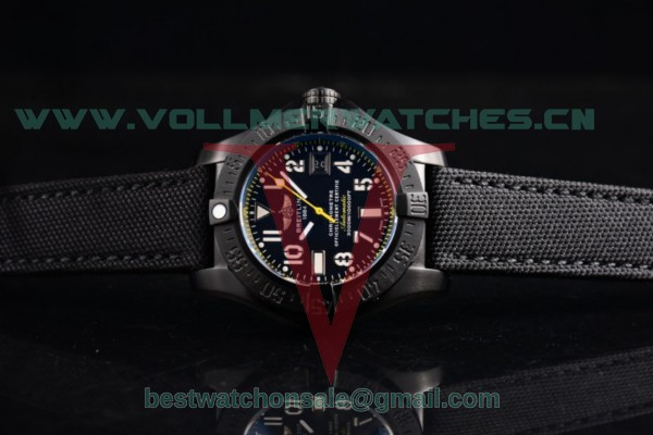 Breitling Avenger Seawolf Code 2836 Auto Black Dial with PVD Case M17330B2/BC05-200S (H)