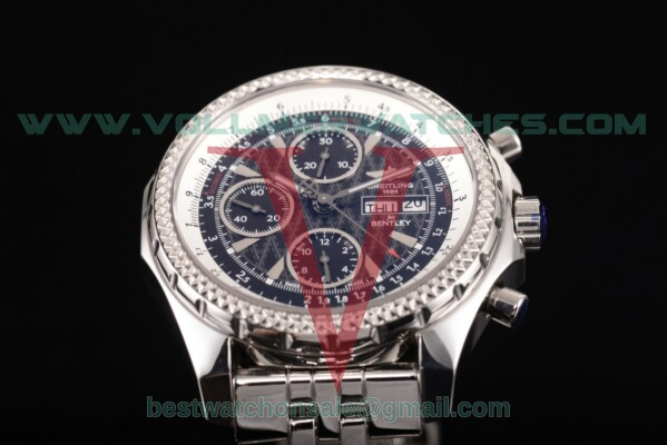 Breitling Bentley Motors Chrono 7750 Auto Black Dial with Steel Case a2536412/g678-ss (BP)