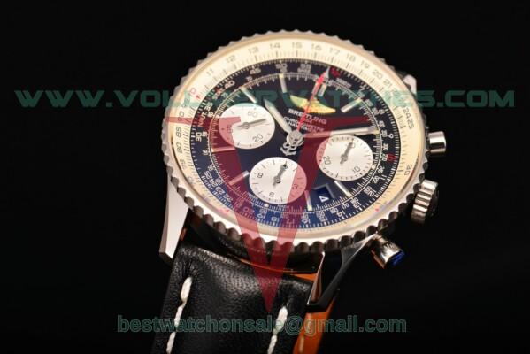Breitling Navitimer 01 Chrono 7750 Auto Black Dial With Steel Case ab012012/bb01-1lt