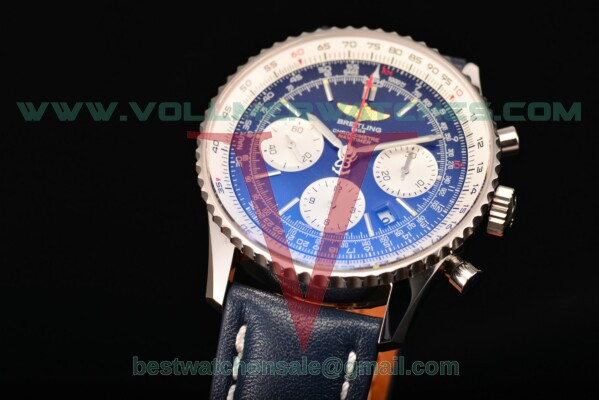 Breitling Navitimer 01 Chrono 7750 Auto Blue Dial With Steel Case ab012012/bl01-1lt