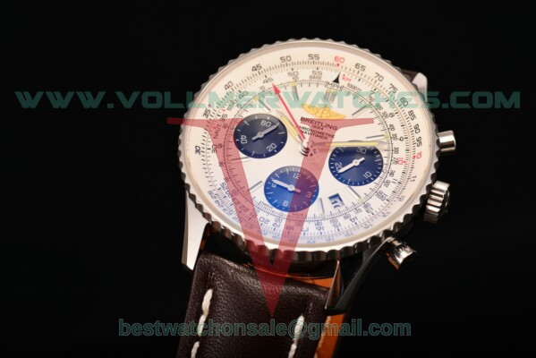 Breitling Navitimer 01 Chrono 7750 Auto White Dial With Steel Case ab012012/wht01-1lt