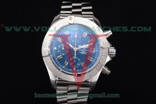 Breitling Avenger Seawolf Chronogrpah Miyota OS10 Quartz Blue Dial with Steel Case a1338012/g132-3ct