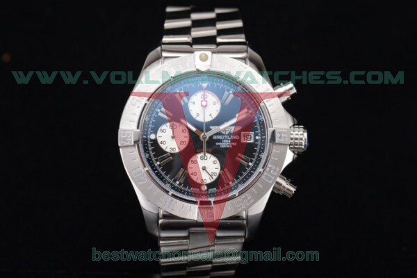 Breitling Avenger Seawolf Chronogrpah Miyota OS10 Quartz Black Dial with Steel Case a1338012/g131-3ct