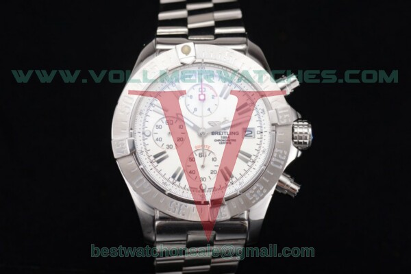 Breitling Avenger Seawolf Chronogrpah Miyota OS10 Quartz Silver Dial with Steel Case a1338012/g133-3ct