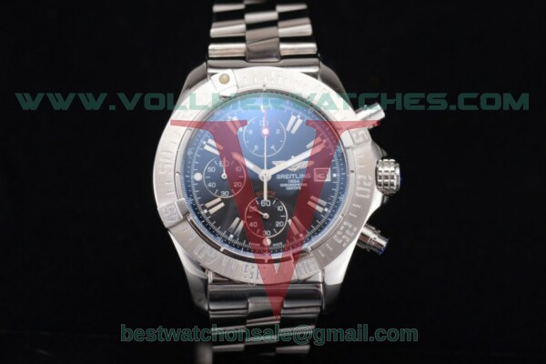 Breitling Avenger Seawolf Chronogrpah Miyota OS10 Quartz Black Dial with Steel Case a1338012/g130-3ct