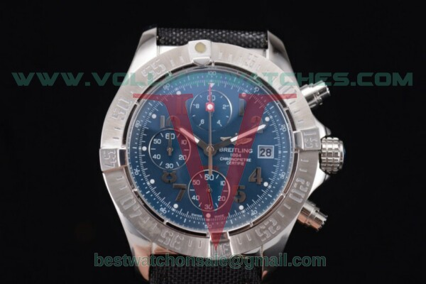 Breitling Avenger Seawolf Chronogrpah Miyota OS10 Quartz Blue Dial with Steel Case a1338012/g123-3ct