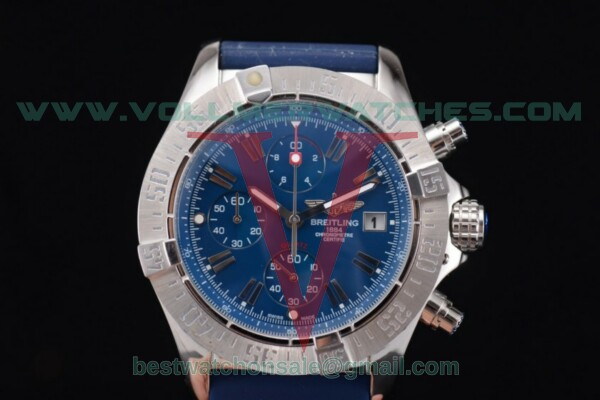Breitling Avenger Seawolf Chronogrpah Miyota OS10 Quartz Sky Blue Dial with Steel Case a1338012/g125-3ct