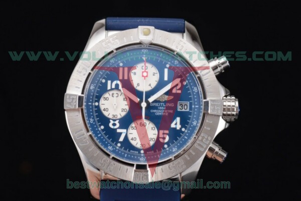 Breitling Avenger Seawolf Chronogrpah Miyota OS10 Quartz Sky Blue Dial with Steel Case a1338012/g126-3ct