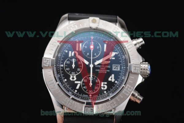 Breitling Avenger Seawolf Chronogrpah Miyota OS10 Quartz Black Dial with Steel Case a1338012/g134-3ct