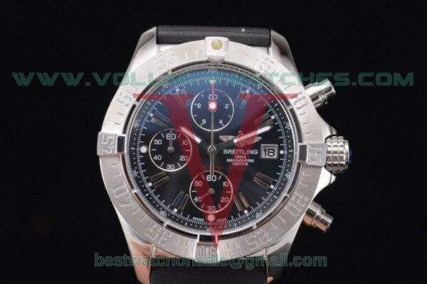 Breitling Avenger Seawolf Chronogrpah Miyota OS10 Quartz Black Dial with Steel Case a1338012/g122-3ct