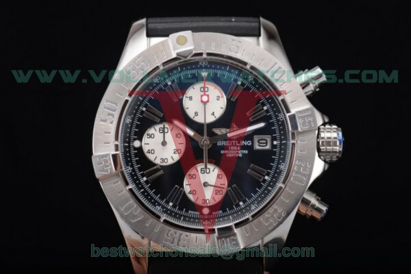 Breitling Avenger Seawolf Chronogrpah Miyota OS10 Quartz Black Dial with Steel Case a1338012/g112-3ct