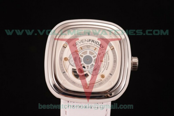 SevenFriday P1-2 8215 Auto Skeleton Dial with Steel Case P1-2