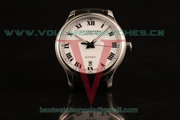 Chopard L.U.C 1937 9015 Auto White Dial with Steel Case 168544-3001 (AAAF)