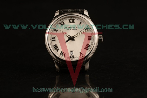 Chopard L.U.C 1937 9015 Auto White Dial with Steel Case 168544-3002 (AAAF)