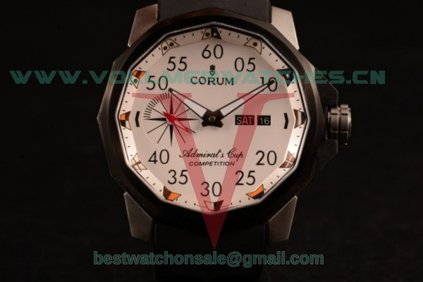 Corum Challenger 7750 Auto White Dial with Steel Case 986.691.11/F371 AA92DD (XF)