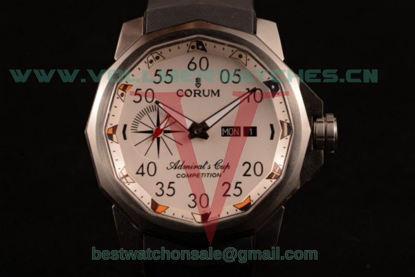 Corum Challenger 7750 Auto White Dial with Steel Case 753.691.20/F371 AA92DD (XF)