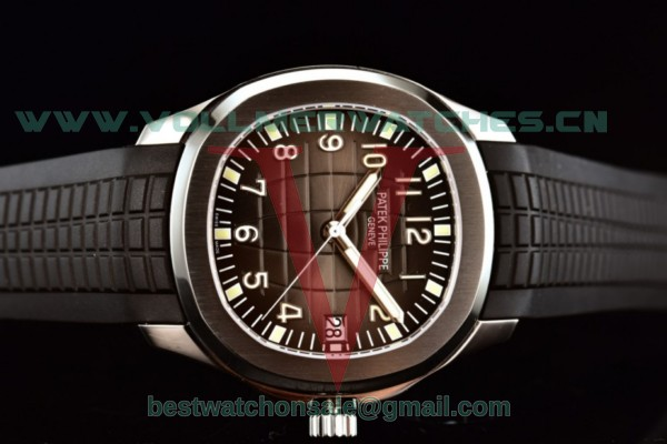 Patek Philippe Aquanaut Jumbo Miyota 9015 Auto Brown Dial With Steel Case 5167A-001(ZF)