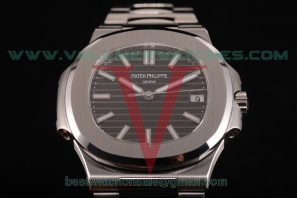 Patek Philippe Nautilus Miyota 9015 Auto Black Dial with Steel Case 5711/571A (V6F)