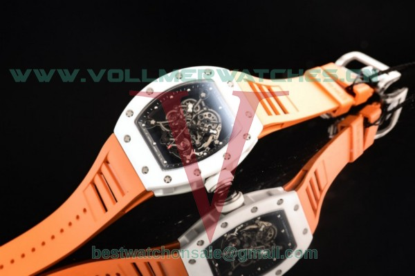 Richard Mille RM 055 Bubba Watson 9015 Auto Black Skeleton Dial With Ceramic Case RM 055