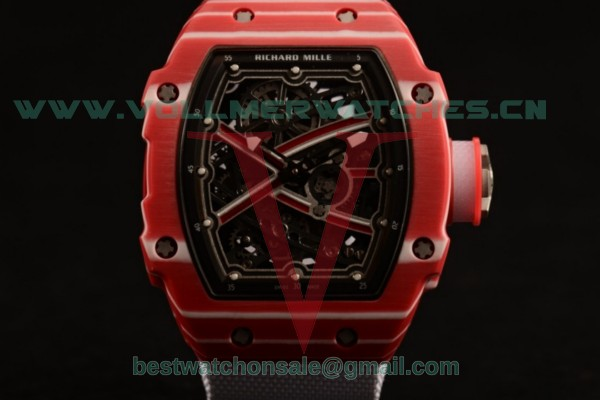 Richard Mille RM 67-02 9015 Auto Skeleton Dial with PVD Case RM 67-02