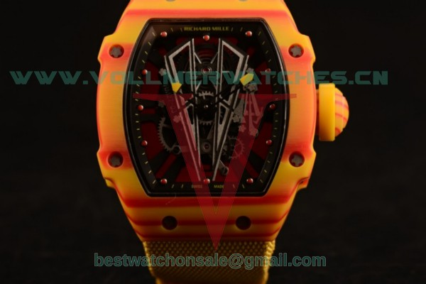 Richard Mille RM 27-03 9015 Auto Skeleton Dial with PVD Case RM 27-03