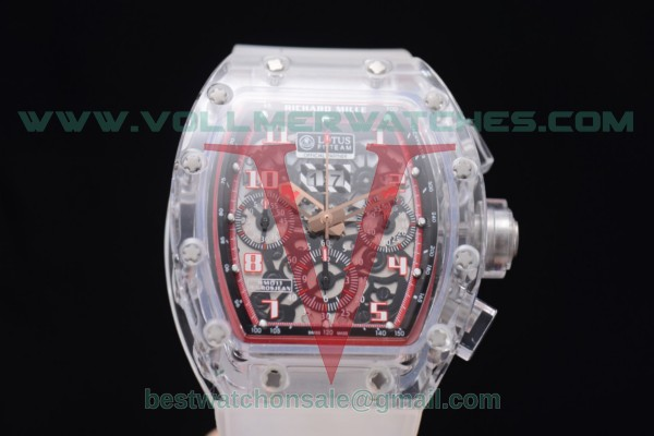 Richard Mille RM 011 Felipe Massa Flyback Chrono 7750 Auto Skeleton Dial with Sapphire Crystal Case White Markers RM 011