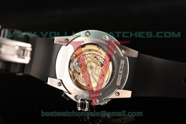 Richard Mille RM 025 Auto Rose Gold Dial with Steel Case