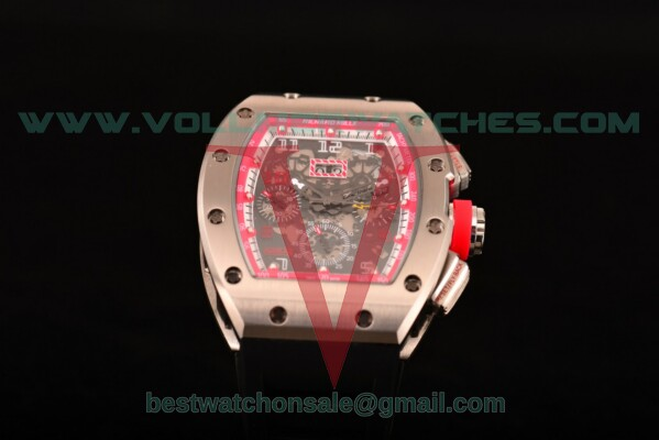 Richard Mille RM005 FM Auto Skeleton Dial with Steel Case