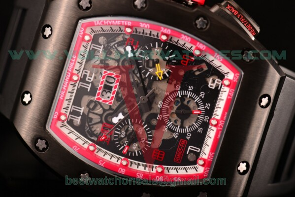 Richard Mille RM005 FM Auto Skeleton Dial with PVD Case