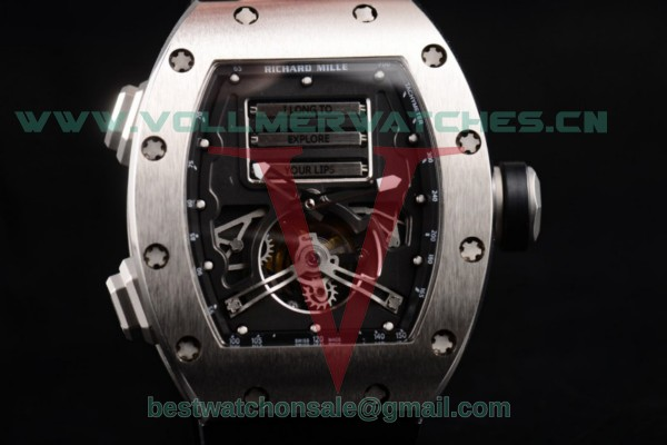 Richard Mille RM 69 Erotic Tourbillon 9015 Auto Skeleton Dial with Steel Case RM 69