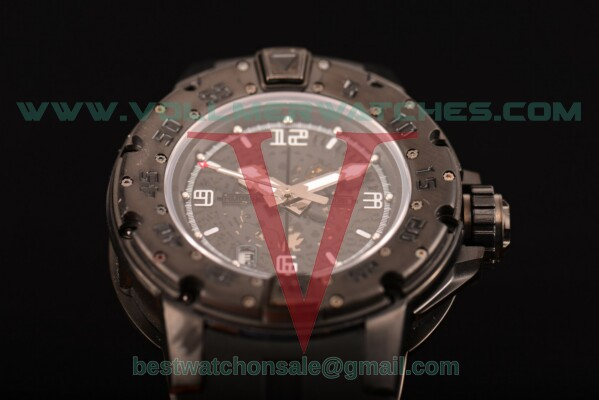 Richard Mille RM028 7750 Auto Skeleton Dial With PVD Case