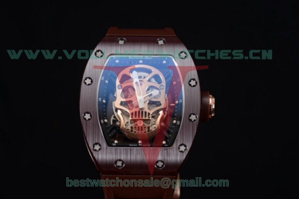 Richard Mille RM052 Miyota 9015 Auto Skull Dial With Ceramic Case
