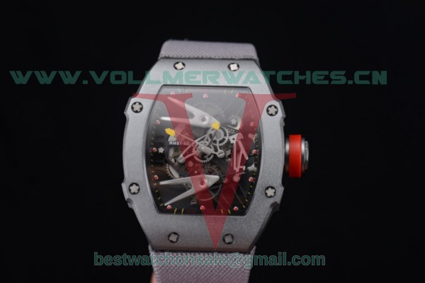 Richard Mille RM027-2 Miyota 9015 Auto Skeleton Dial With Steel Case