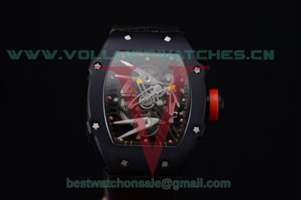 Richard Mille RM027-2 Miyota 9015 Auto Skeleton Dial With PVD Case