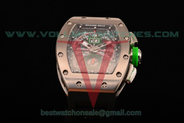 Richard Mille RM11-01 Chrono 7750 Auto Skeleton Dial with Steel Case RM 011