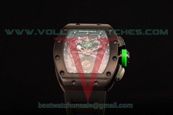 Richard Mille RM11-01 Chrono 7750 Auto Skeleton Dial with PVD Case RM 011