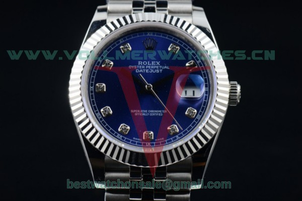 Rolex Datejust II 2836 Auto Blue Dial with Steel Case 116334 bldj (BP)