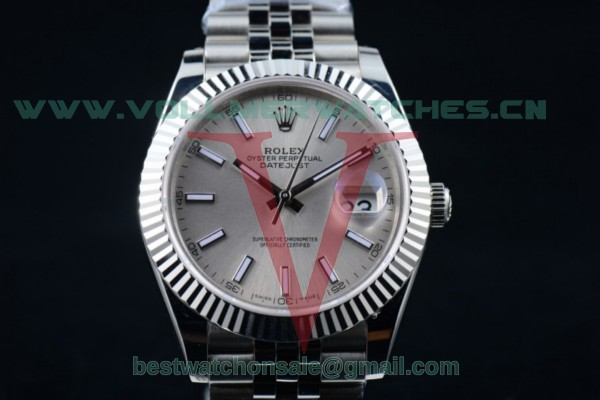 Rolex Datejust II 2836 Auto Silver Dial with Steel Case 116334 silsj (BP)