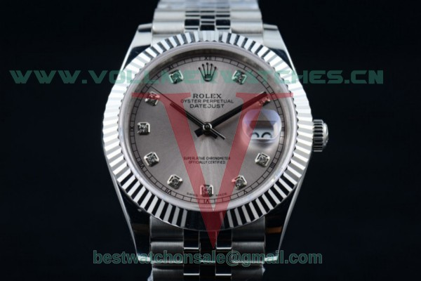 Rolex Datejust II 2836 Auto Gray Dial with Steel Case 116334 gredj (BP)